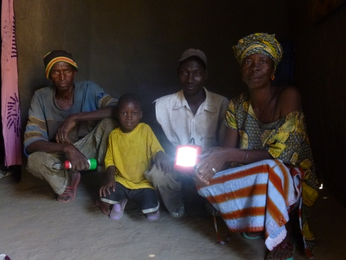 Partner with cooperatives to sell solar lamps