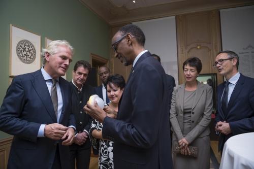 Bart Hartman meets President Kagame