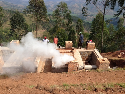 First batches of Blue Charcoal produced in Rwanda
