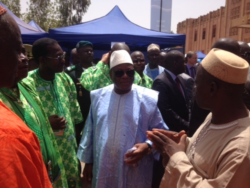 President of Mali visits NOTS at Salon de L'agriculture